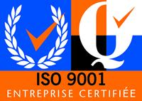Entreprise certifiée ISO 9001