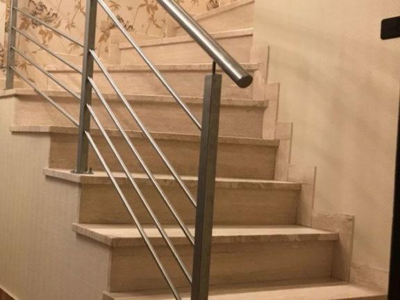 architecte rambarde escalier sur-mesure