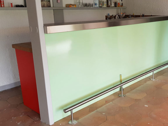 bar sur mesure inox