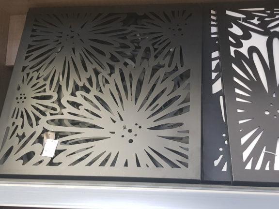 décoration inox sur mesure